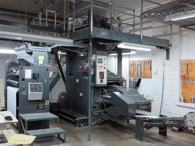 Howard Direct Stock Details Used Printing Equipment